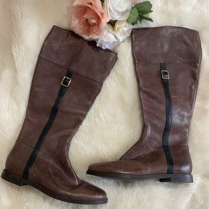 COLE HAAN riding boots knee high 6.5